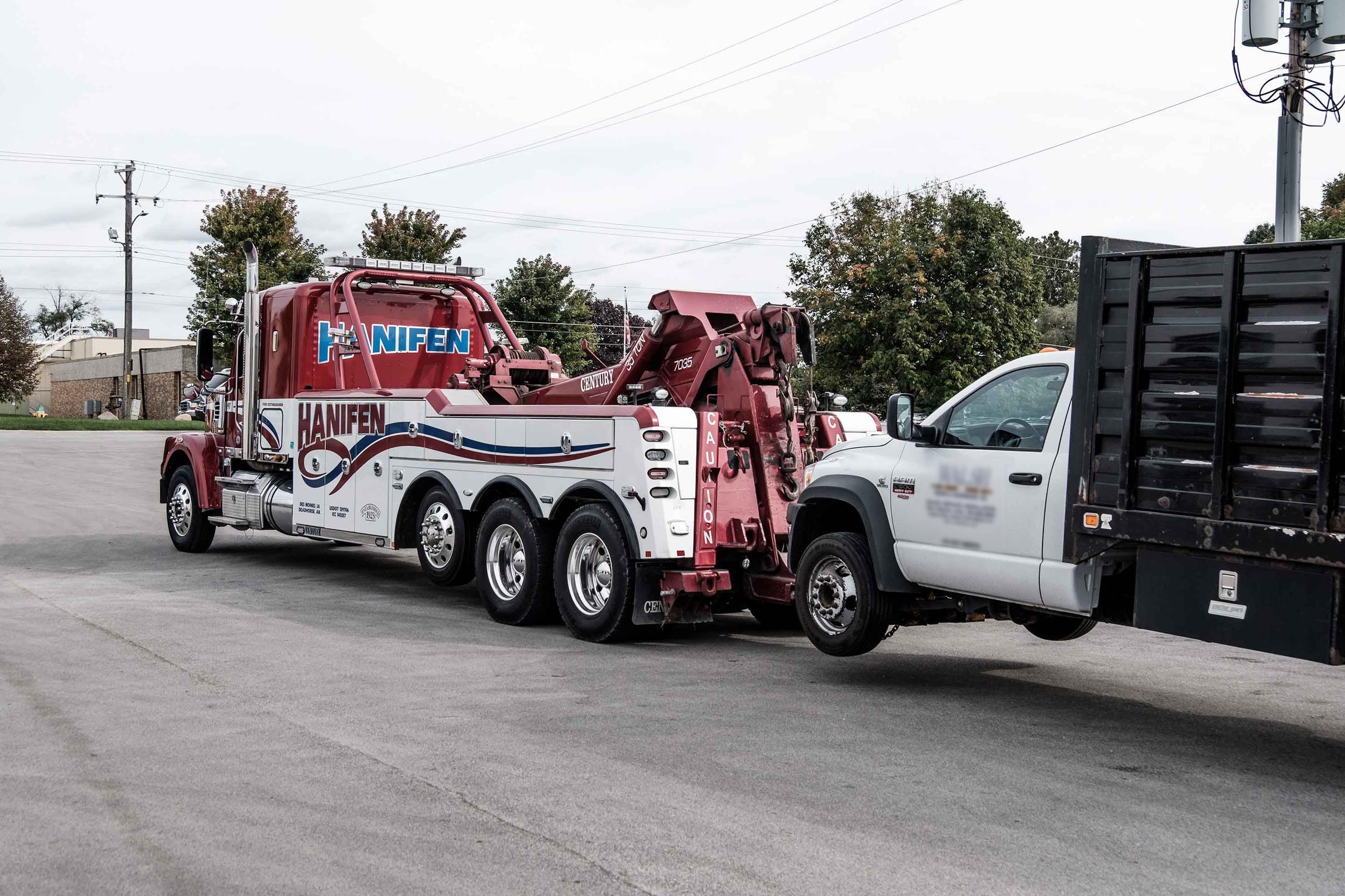Our Services   Hanifen Towing